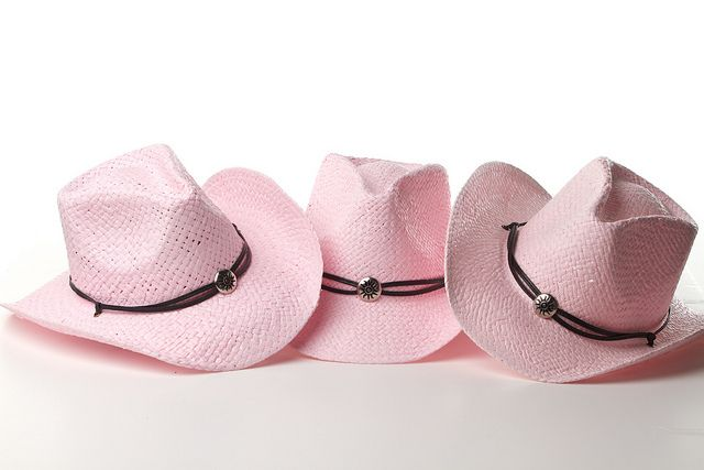 Taste of Country Pink Cowboy Hats