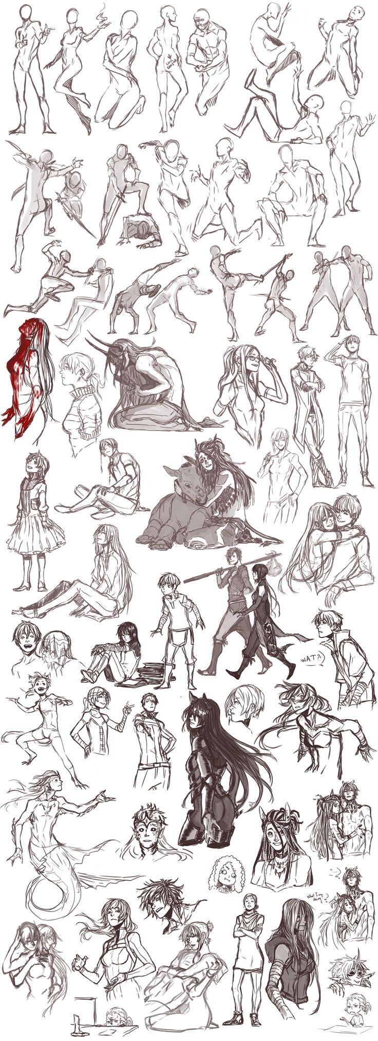Sketch dump 26 by Namonn on DeviantArt