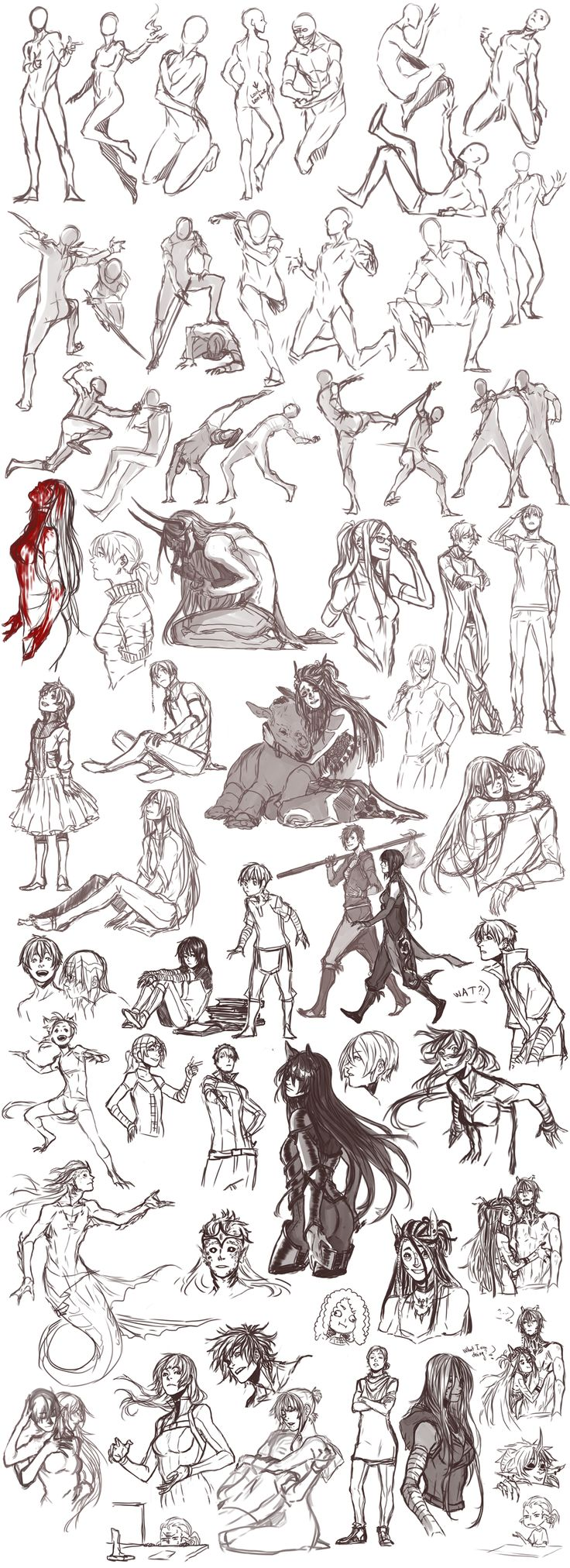 Sketch dump 26 by Namonn on DeviantArt