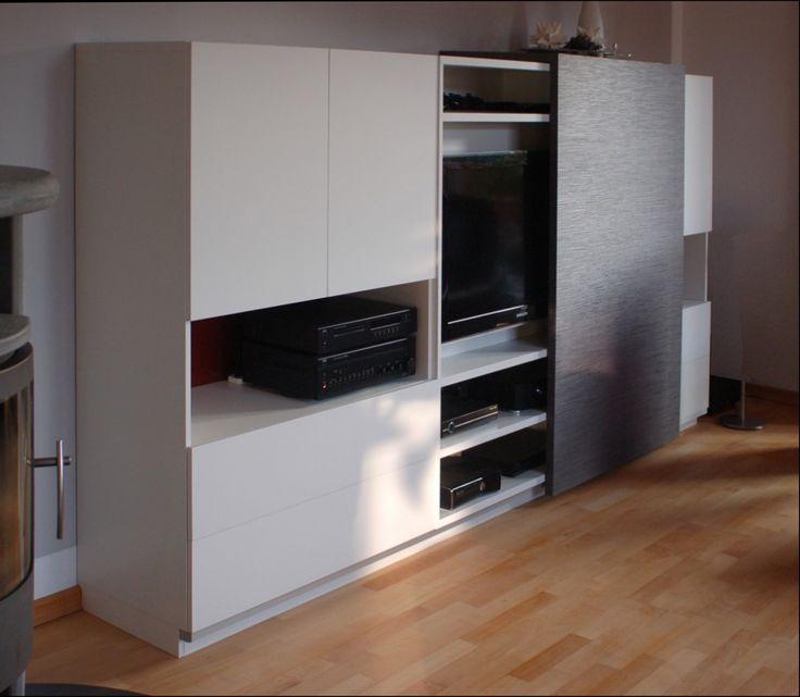 die 25 besten ideen zu tv m bel auf pinterest tv ger t tv panel und fernseh schr nke. Black Bedroom Furniture Sets. Home Design Ideas