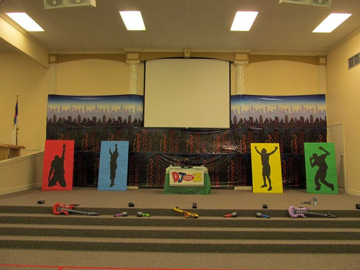 "Go Fish Guys VBS Decor... ""Praise"" 