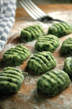 Spinach Gnocchi sounds like heaven