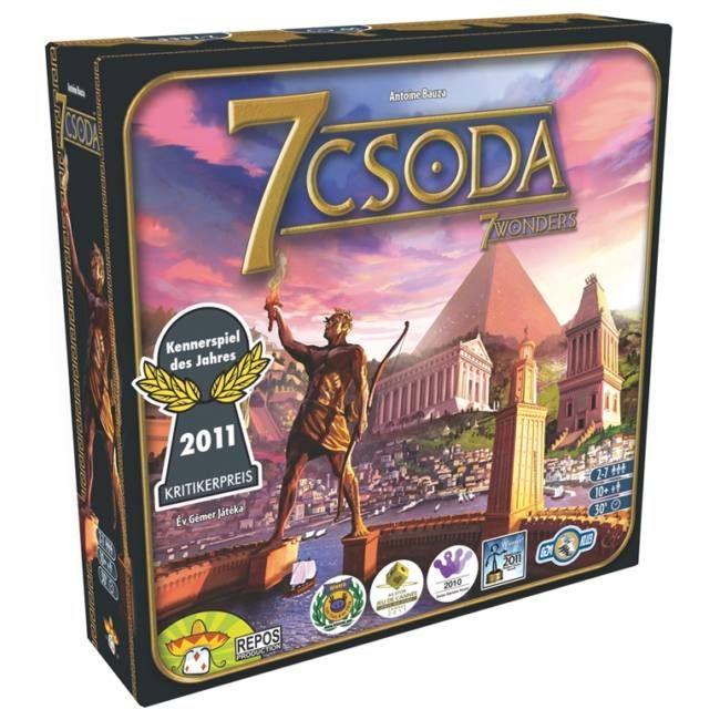 A legjobb stratégiai játék, amely az ókori csodákra épül :) - EgyszerBolt Társasjáték