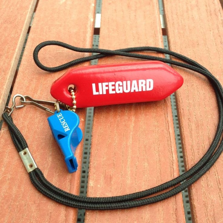 "Lifeguard Rescue tube Keychain ""The Original"" by New York's Safest! Look! #NewYorksSafest"