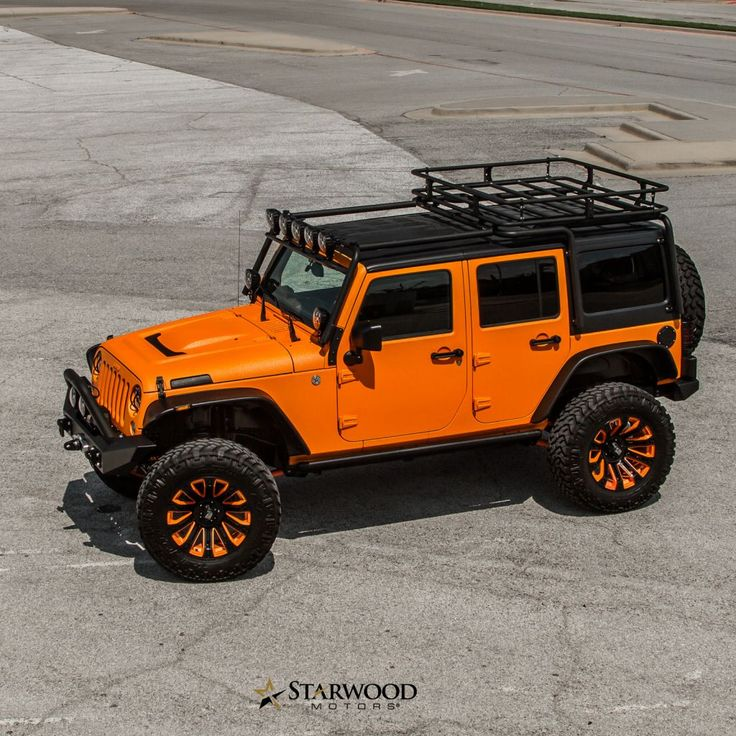 Best 25+ Orange Jeep Wrangler Ideas On Pinterest