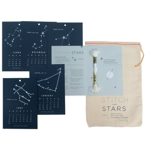 Stitch the Stars 2013 Calendar Kit   Click Image to Close