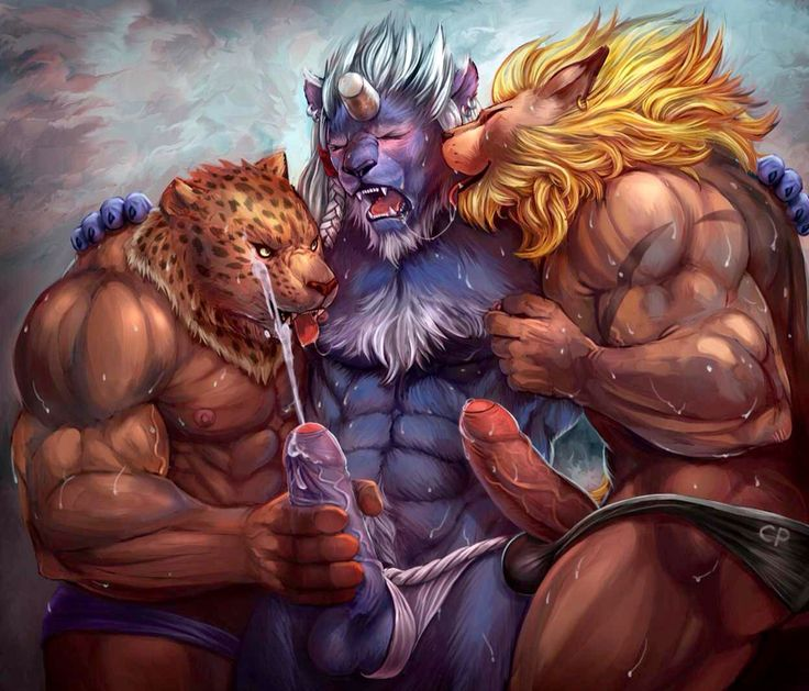 Beefy and muscular gays fuck and suck in the 10