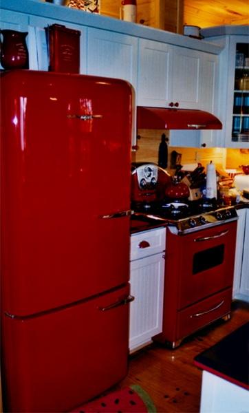 106 best Retro kitchens images on Pinterest | Retro kitchens ...
