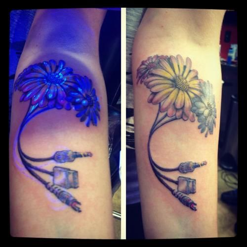 Abstract Daisy Tattoo: 66 Best Images About Daisy Tattoos And More. On Pinterest