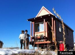 Boulder Tiny House: Colo. Couple Build Simple, Sustainable 125 Square Foot Home (PHOTOS, VIDEO)125 Squares, Tiny Homes, Ideas, Favorite Places, Squares Foot, Tiny Houses, Buildings, Small Spaces, Living Small