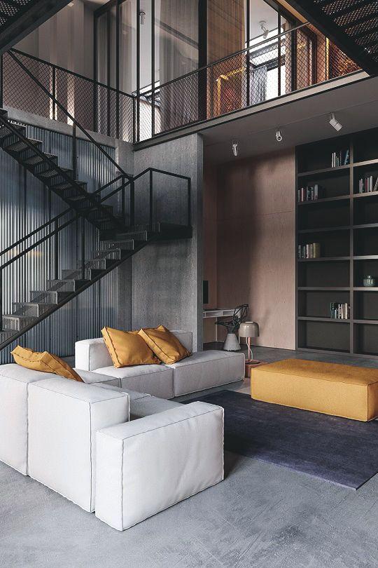 Mooie kleuren voor interieur. Envy Avenue. — livingpursuit: Designed by Konstantin Kildinov. Warm interior space