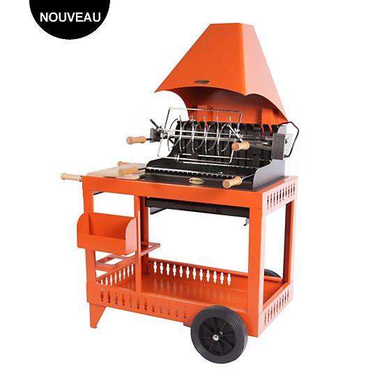 Grilloir sur chariot LE MARQUIER Meharin Camif prix Barbecue Camif 775.00 €