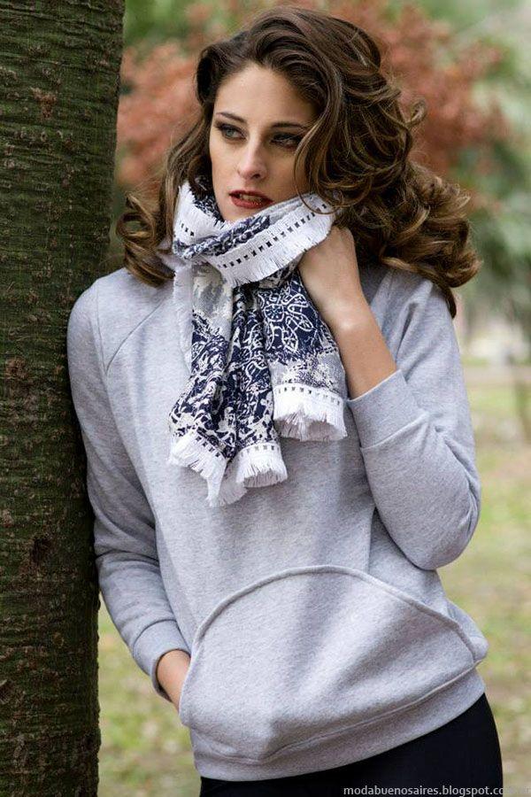 Moda invierno 2015 mujer. Buzos Empatia invierno 2015.