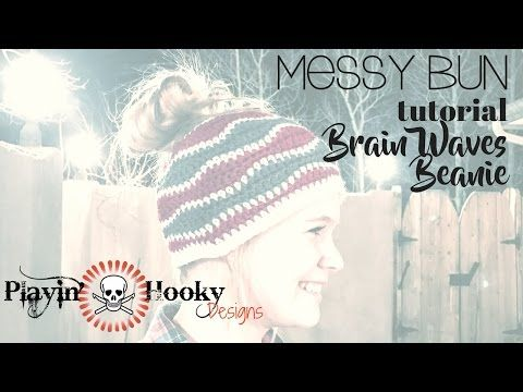 666fd7674ad Messy-bun beanies... it seems like they re everywhere. But if you ve missed  the craze
