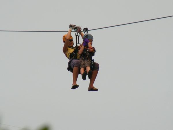 Ceres Zipslide Adventures - Tandem