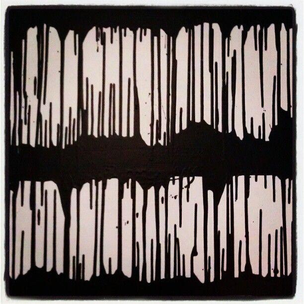 #selftaughtartist #artist #art #abstract #dripping #paint #paints #painting #black #white #balck
