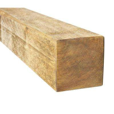 $13 4 in. x 4 in. x 8 ft. #2 and Better Kiln Dried Douglas Fir Lumber