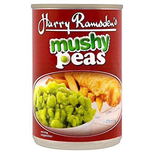 Harry Ramsden's Mushy Peas (300g) - http://bestchocolateshop.com/harry-ramsdens-mushy-peas-300g/
