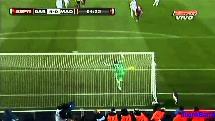 Barcelona 5 - 0 Real Madrid (Resumen de goles y mejores jugadas - audio ...