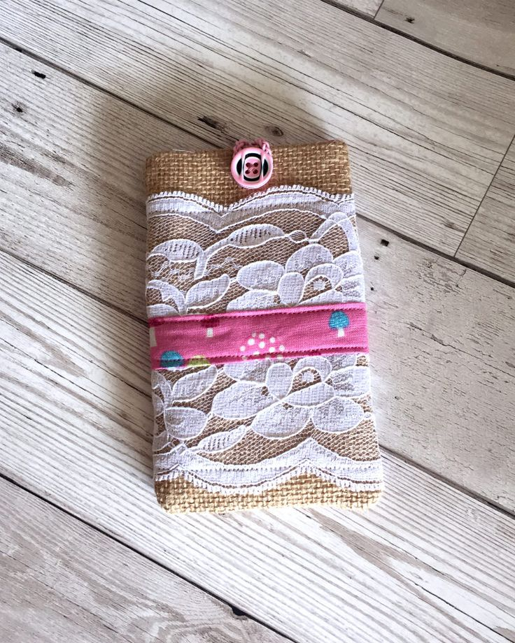 A personal favourite from my Etsy shop https://www.etsy.com/uk/listing/544352997/burlap-lace-mobile-phone-case-mobile