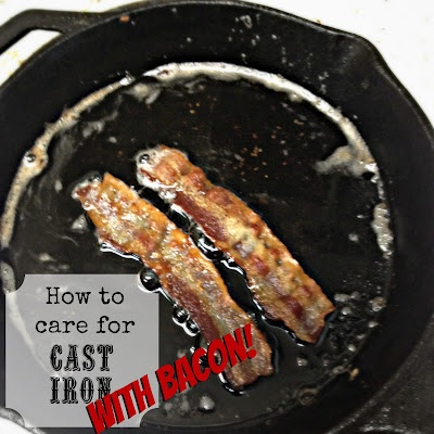 Easy ways to clean your cast iron pans: Cast Iron Pans, Irons, Food Ish, Laundry Bad, Iron Recipes Care, Helpful Tips, Bacon, Cleaning Tips, Handy Info
