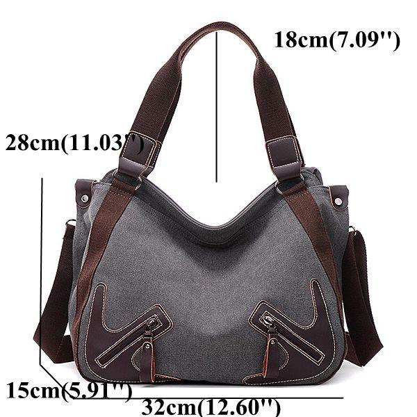 58c3eaa1743 DREAME Women Solid Organiser Bag Multifunction Casual Shoulder Bag ...