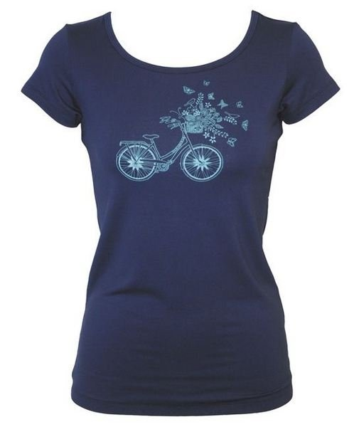 Chalkydigits Summer 12/13 On Your Bike Scoop Neck Tee Womens