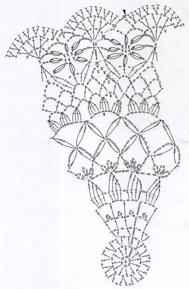 The Angel Garden~天使の庭のドイリー~(編み図付き) : Crochet a little