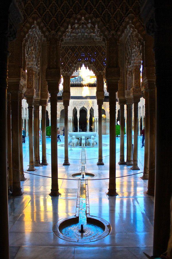500px / Alhambra, Patio de los Leones by Emanuele Mont Girbés