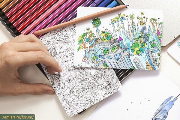 59 Best Creative Coloring Books Images On Pinterest