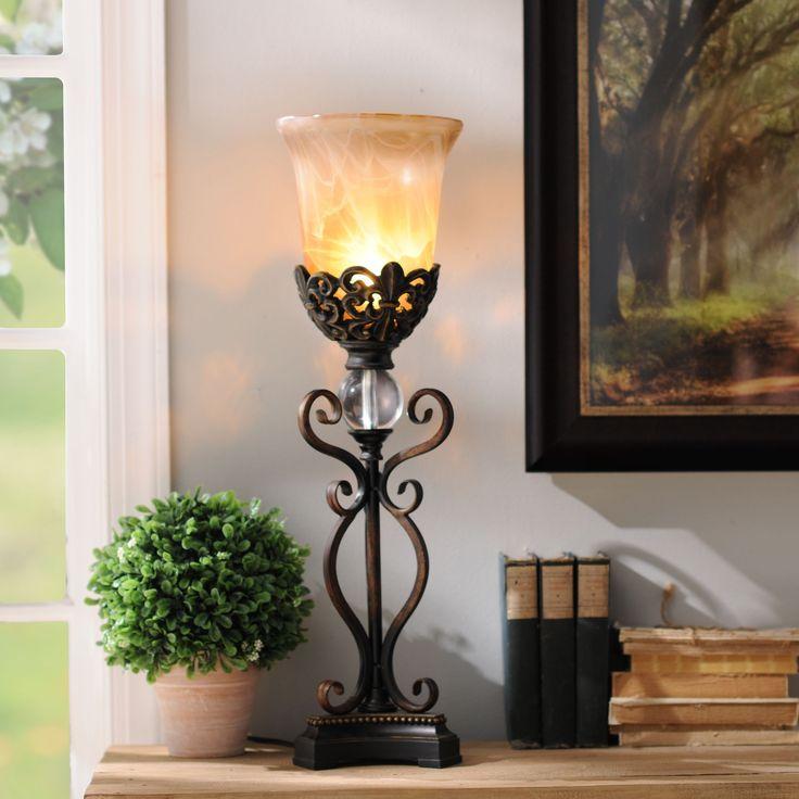 Camilla Uplight | Kirkland home decor, Tuscan decorating ... on Lanterns At Kirklands id=11336