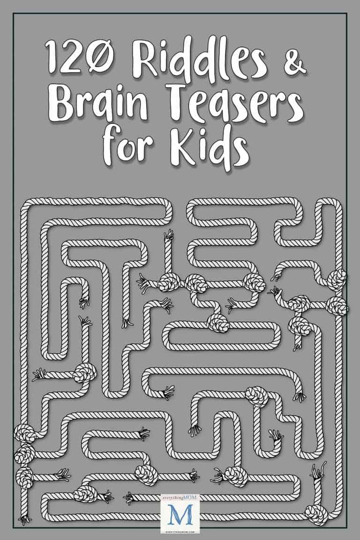 120 Riddles and Brain Teasers for Kids Brain teasers for