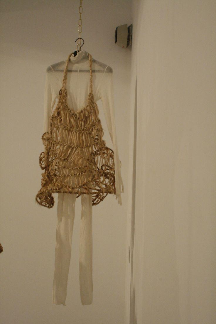 """Natural fibers, jute, hemp, abaca, rattan and textil Sara Coleman, """"Colección Ancestra"""""""