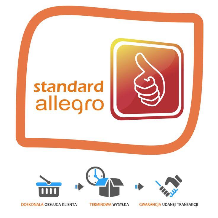 Koniec ze Standardem Allegro!  10 lipca zostanie przeprowadzona po raz ostatni kwalifikacja do Standardu Allegro, a dokładnie miesiąc później zostanie on zastąpiony nowym programem bonusowym dla najlepszych sprzedających  Niestety na więcej szczegółów musimy poczekać do połowy czerwca.  📱 792 817 241 📩 biuro@e-prom.com.pl http://e-prom.com.pl #allegro #obsługaallegro #zmianynaallegro #nowościallegro #prowadzenieallegro #standardallegro