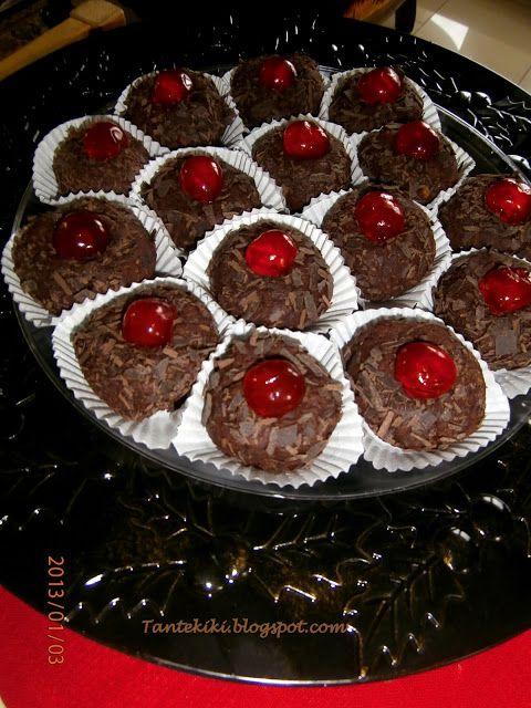 Tante Kiki: Τρουφάκια σοκολάτας ...μεθυσμένα