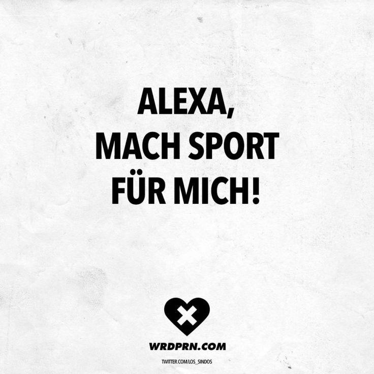 Alexa, mach Sport für mich