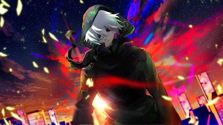 Kaneki Ken Anime Tokyo Ghoul Image Art 1366×768