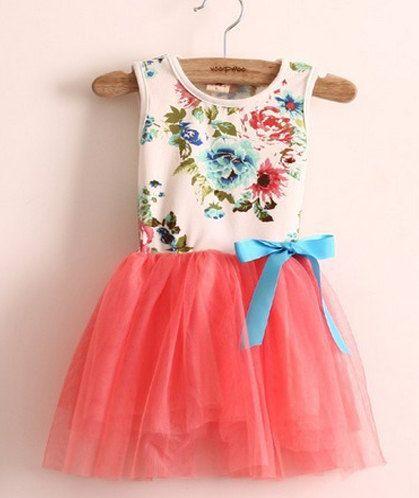 Toddler Girls Tutu Dress // Pink Princess Toddler Tutu Fancy Floral Girls Dress Cotton Tulle Girls Fancy Dress Bridesmaid Dress