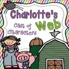 Charlotte's Web Cast of Characters booklet will make a perfect addition to any springtime or animal unit. Students create their own cast of charact...