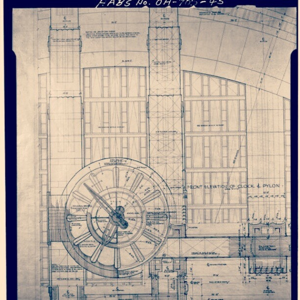 73 best timeline tuesday images on pinterest the queen cincinnati timeline tuesday 5222012 this blueprint details the clock located on the malvernweather Choice Image