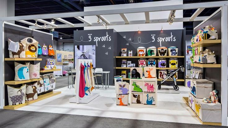 Kids Exhibition Booth : The sprouts trade show booth retail