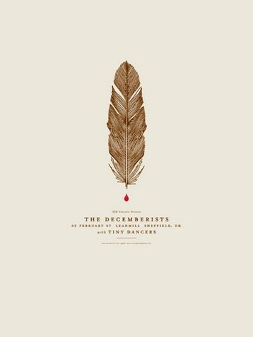 :: The Decemberists, design by Jason Munn ::