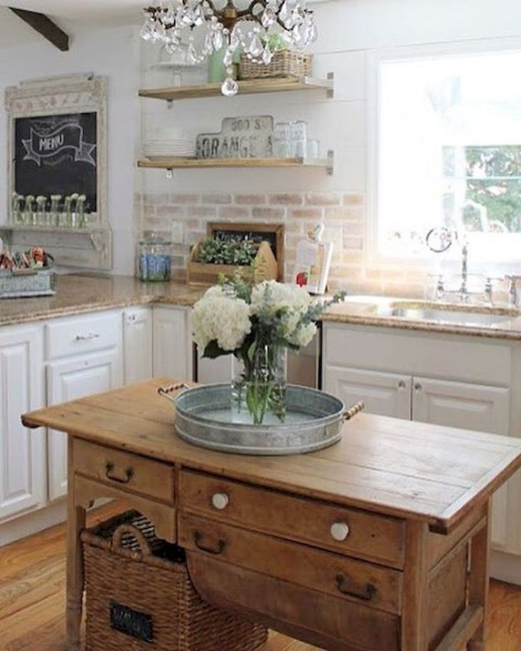 Best 25+ Farm kitchen decor ideas on Pinterest Dark cabinets - küche aus paletten