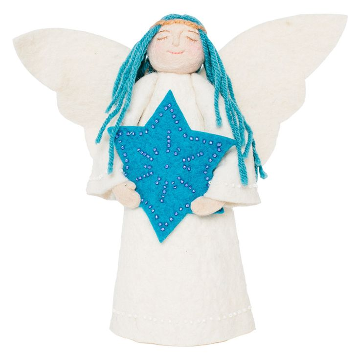 Star of David Angel - Christmas/Hanukkah Tree Topper