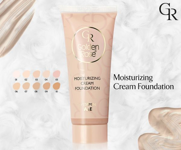 Moisturizing Cream Foundation cilde uyumlu renkleri ve ipeksi dokusu ile pürüzleri gizler, yüzünüze doğal bir görünüm kazandırır. http://goldenrosestore.com.tr/moisturizing-cream-foundation.html