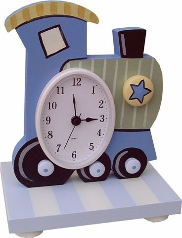 Train Table Clock and decor at Jack and Jill Boutique
