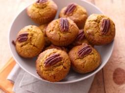 Muffins épicés au potimarron, noix de Pécan et miel de sapin - par Gourmandiseuse