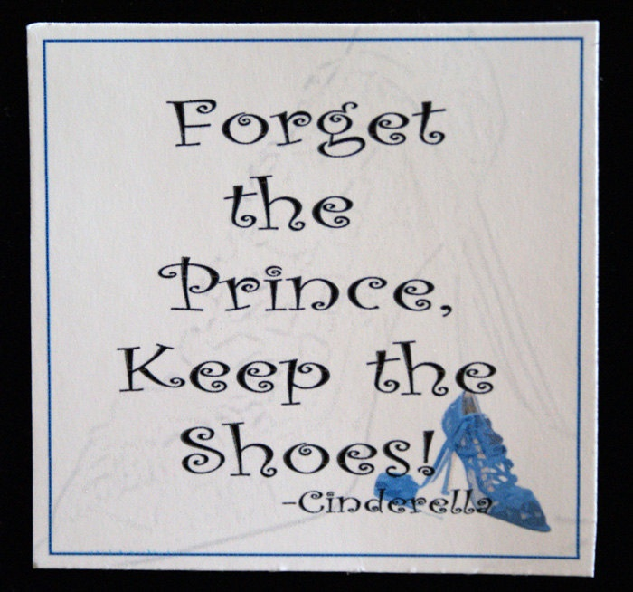 Keep the shoes!