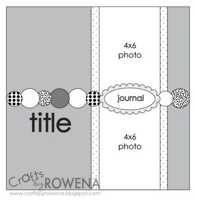 Crafts By Rowena: Layout Sketches