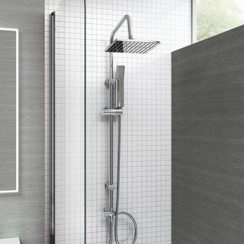 200mm Square Head With Handheld [PT-SP5106] - £99.99 : Platinum Taps & Bathrooms